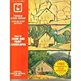 How to Draw and Paint Landscapes, Famous Artists School Staff, 0064640701