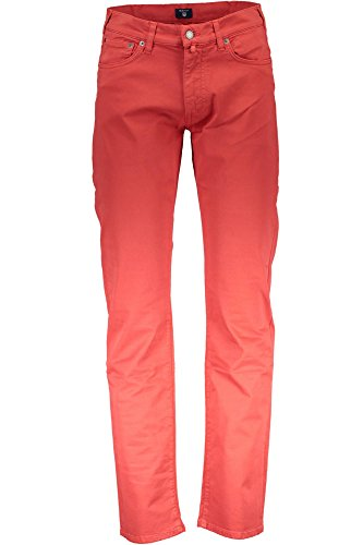 Twill Gant Vaqueros Tyler Hombre 620 Jean Comfort Rosso Desert TqFRwxHq