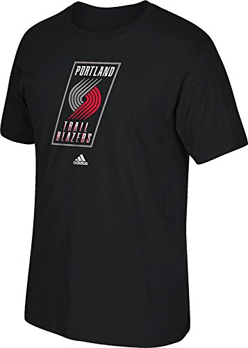 NBA Portland Trail Blazers Men's Full Primary Logo Tee, X-Large, Black