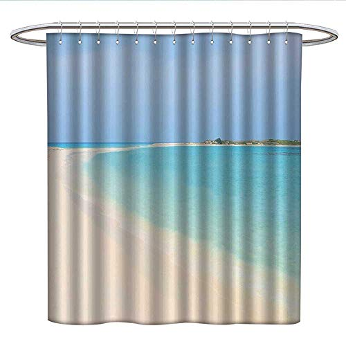 Anshesix Fruitcloth Shower curtainGrapes in Water with Bubbles Yummy Tasteful Food Juicy Freshness Nature PictureCurved Shower Curtain rodBaby Blue Ruby