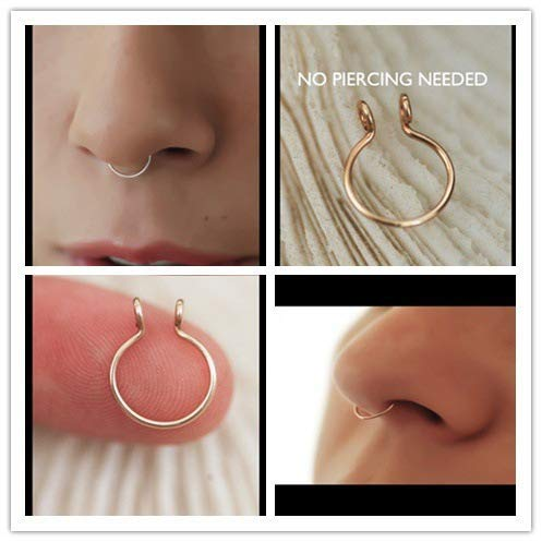 Septum Silver Jewelry Piercing Needed product image