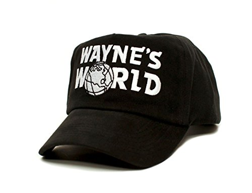 Posse Comitatus Wayne's World Custom Embroidered Movie Hat Adult Unisex Black Cap