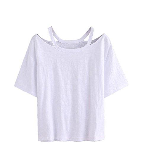 キルス外交官費用YOKINO 夏服 上着 T-shirt T シャツ レディース ブラウス 快適 ゆったり ティーシャツ 半袖シャツ