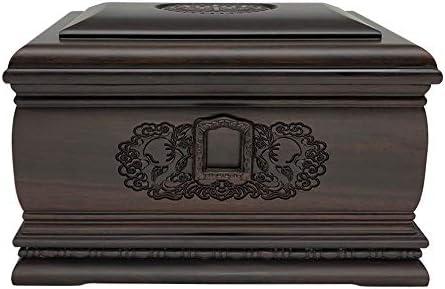 灰大人の骨壷 人間の灰の記念壺火葬壷 - ウォームと永遠ラビングメモリジャー - 適切なホーム場所や埋葬(11.8x7.9x7.5インチ) BUYT