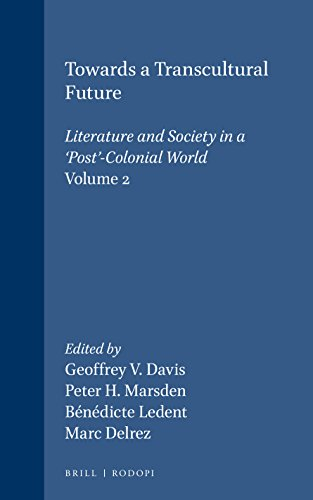 Towards a Transcultural Future: Literature and Society in a 'Post'-Colonial World (ASNEL Papers 9.2; Cross/Cultures 79)