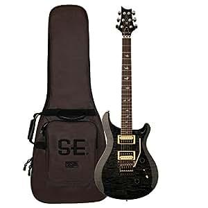 prs cm4gbqfl30 30th anniversary floyd custom 24 electric guitar gray black musical. Black Bedroom Furniture Sets. Home Design Ideas