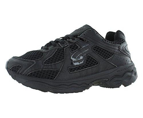 SPIRA Women's Scorpius Stability Running Shoe,Black/Black...