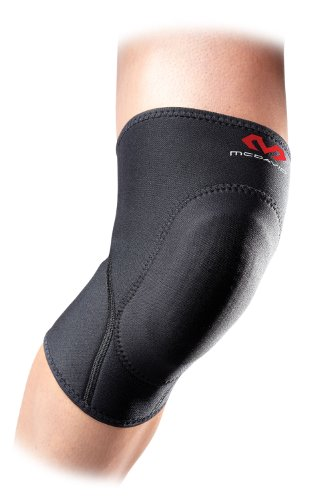 McDavid 410 Knee Pad with Sorbothane Insert (Black, Large)