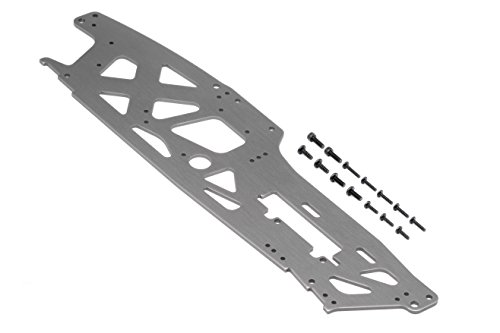 TVP Chassis (Left/Gray/3mm) Savage XL - Tvp Chassis