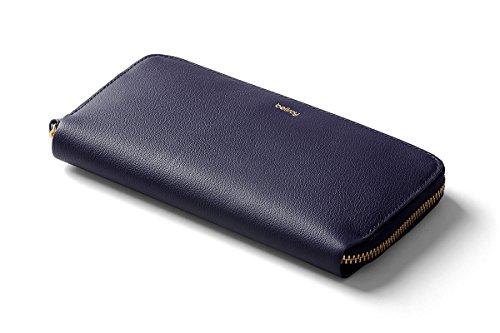 Bellroy Women's Leather Folio Wallet - Navy
