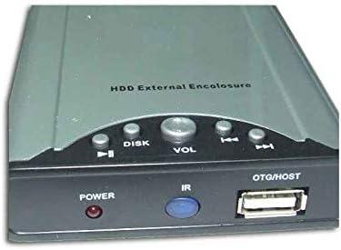 Caja Disco Duro HDD Multimedia 2.5