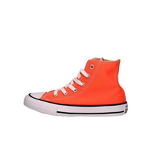 CONVERSE niño / o altas zapatillas de deporte 755739C CTAS HI HYPER NARANJA Arancio fluo