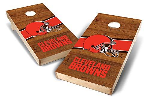 PROLINE NFL Cleveland Browns 2'x4' Cornhole Board Set - Logo ()