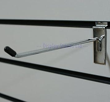 pannelli dogati SINGOLO GANCI X 100 NUOVA CROMATA 5 misure disponibili (J8 - CROMATO, 250MM Display Stands