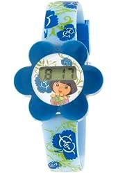 Nickelodeon Dora the Explorer Kid's DTE715 Flower Case Watch