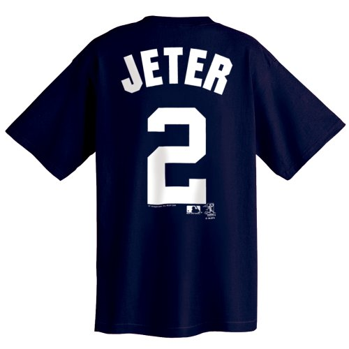MLB New York Yankees Derek Jeter Youth Name and Number T-Shirt, X-Large ()