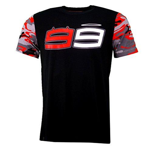Jorge Lorenzo 99 Moto GP Logo Black T-shirt Official 2016 (Moto Gp Merchandise compare prices)