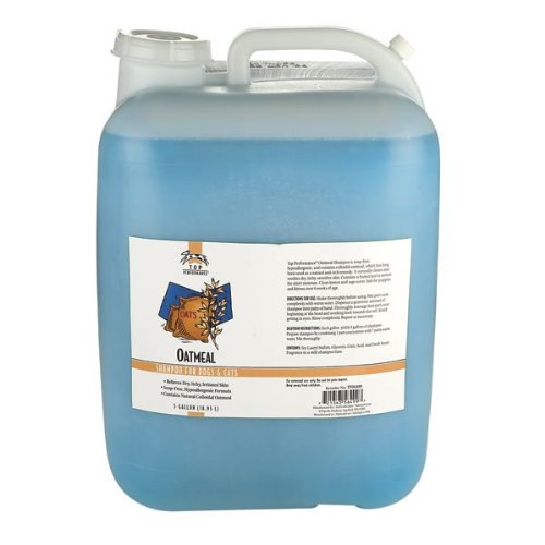 Top Performance Dog and Cat Oatmeal Shampoo, 5-Gallon by Top Performance