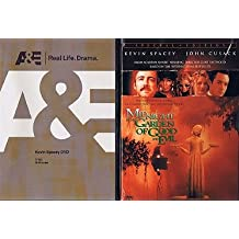 Kevin Spacey 2-Pack (2-DVD): Biography (A&E, 2008) / Midnight in the Garden of Good and Evil