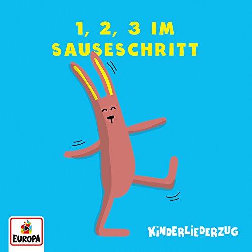 1, 2, 3 im Sauseschritt