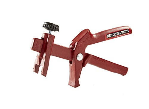 Perfect Tool - T-Lock TM PERFECT LEVEL MASTER TM Pliers Tool Gun for Tile leveling system - wall & floor spacers adjustment ! Tlock