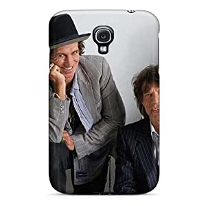 Bumper Hard Phone Case For Samsung Galaxy S4 With Unique Design Fashion Rolling Stones Image SherieHallborg