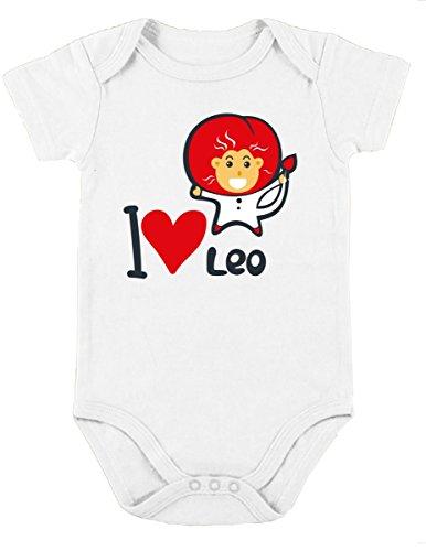 Urbanica 6 Baby Romper Short Sleeve Onesie Unisex (18-24 Months, White)