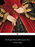 The Penguin Book of Renaissance Verse, Various, 014042346X