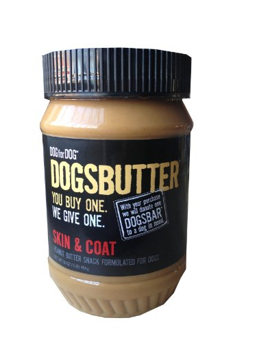 Dog for Dog Peanut Butter for Dogs with Skin and Coat Formula, 16-Ounce, My Pet Supplies