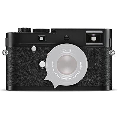 Leica M Monochrom (Typ 246) Digital Rangefinder Camera Body, 24MP, Black & White Image Sensor, Black by Leica