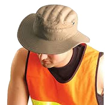2 Pack - Miracool Ranger Hat W/Terry Cloth Liner - Can be worn dry or Water Soaked for Cooling - MED