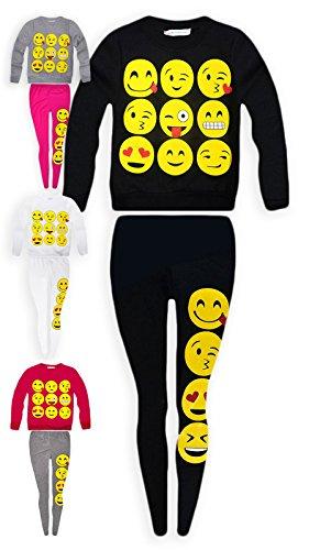 Jolly-Rascals-Girls-Emoji-Jumper-And-Matching-Leggings