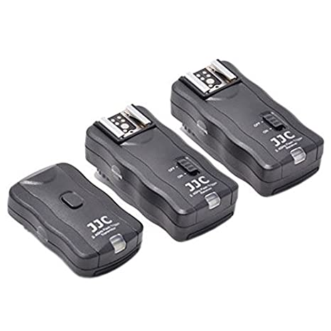 WIRELESS FLASH TRIGGER 1 Transmitter 2 Receiver For CANON T5i ,700D ,T4I ,650D