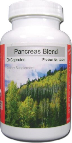 Pancreas Supplement Substance Palmetto Homeopathic
