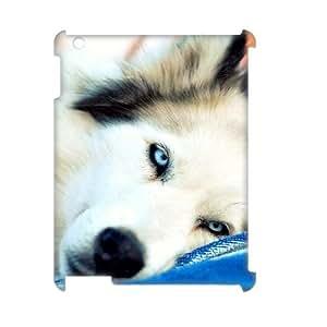 DIYYuli(RM) Unique Design DIY Beautiful Husky Dog 3D Cover Case for Ipad2,3,4 - KkUi108112