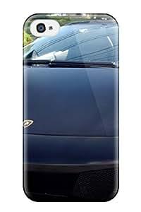 High Quality Lamborghini Murcielago Lp6 Roadster Front Case For Iphone 4/4s / Perfect Case