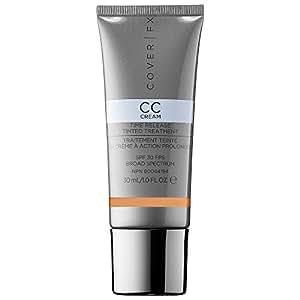 COVER FX CC Cream Time Release Tinted Treatment SPF 30 N Medium 1.0 oz