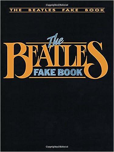 amazon com the beatles fake book c edition fake books
