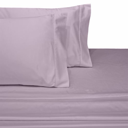 Ultra Soft & Exquisitely Smooth Genuine 100% Egyptian Cotton 300 Thread Count Sheet Sets, Lavish Sateen Solid, Deep Pockets (18