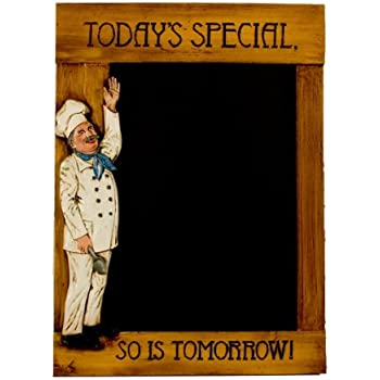 Amazon.com : Today's Special Menu board Chalkboard : Kitchen Chef ...