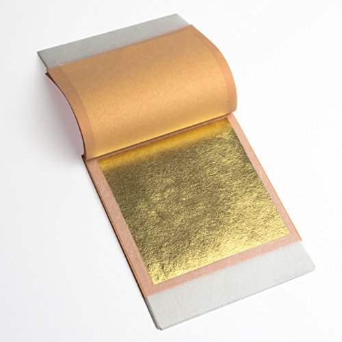 22k Genuine Gold Leaf Transfer 1 Booklet (25 sheets) ()