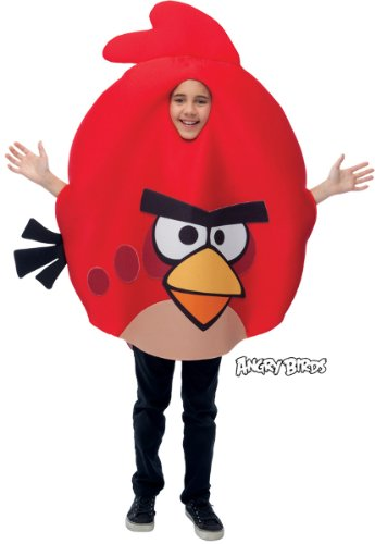 Paper Magic Group Angry Birds Red Bird Costume ()