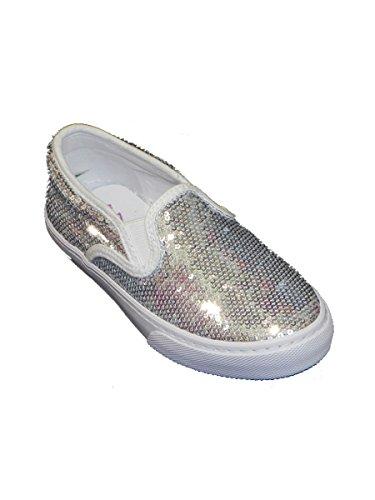Lelli Kelly , Jungen Sneaker * Silber / Schwarz