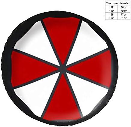エコ BIOHAZARD タイヤカバー タイヤ保管カバー 収納 防水 雨よけカバー 普通車・ミニバン用 防塵 保管 保存 日焼け止め 径83cm