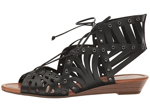 - Jessica Simpson Women's LALAINE Wedge Sandal, Black, 8 Medium US