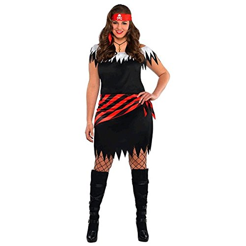 Hidden Treasure Pirate Costumes (Ahoy Katie - Plus (18-20))