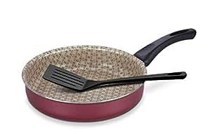 TRAMONTINA FRYING PAN 24CM WITH SPATULA