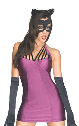 Catwoman Different Costumes (Secret Wishes Women's Dc Super Villians Catwoman Costume, Multi, Medium)
