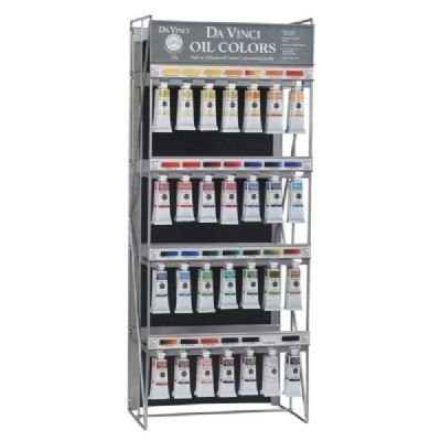 Da Vinci DAV1N-28D Oil Color Paint 56-Piece Display Assortment