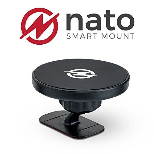 Nato Smart Mount XL - Magnetic Smart Device Holder Universal Adhesive
